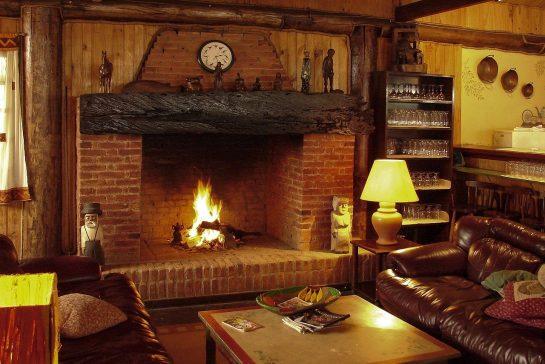 fireplace, luggage, fire